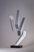 Rafael BARRIOS | Levitation III | Metal available for sale on composition gallery