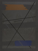 Allan D'ARCANGELO | Beginning? | Mixed Media available for sale on composition gallery
