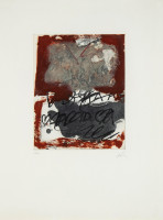 Antoni - TAPIES - La Clau del Foc IV - Etching - available for sale on composition.gallery