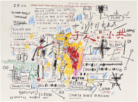 Jean-Michel BASQUIAT | Boxer Rebellion | Screen-print available for sale on composition gallery