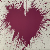MR. BRAINWASH | Love Splash | Screen-print available for sale on composition gallery