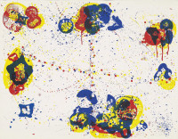 Sam FRANCIS | Web (SFS-136) | Screen-print available for sale on composition gallery